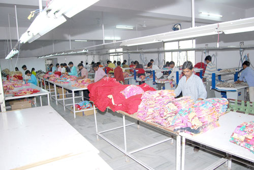 Finishing and packing Department